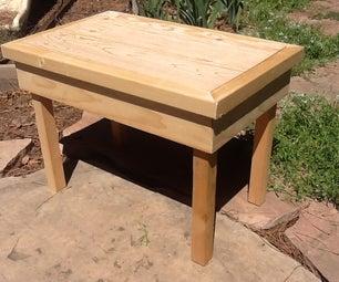 Flip-Top Coffee Table Prototype