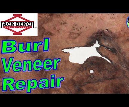 How to Repair Figured Wood Veneer