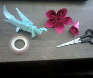 Dragon&Flower-Paper Contest