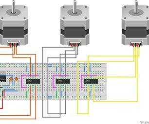 L293D Driver Board for CNC