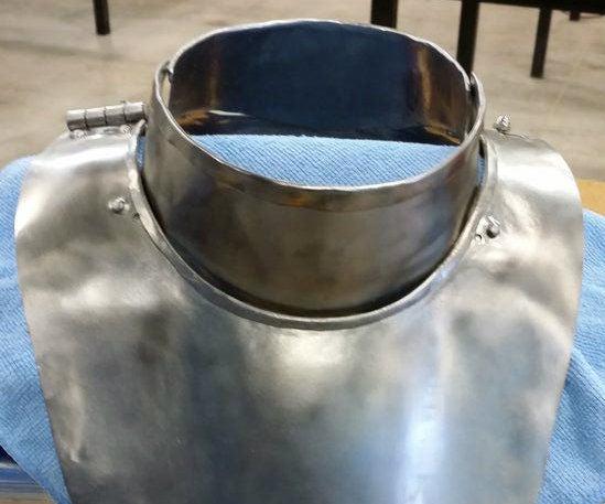 Steel Gorget