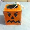 Pumpkin Box For Halloween