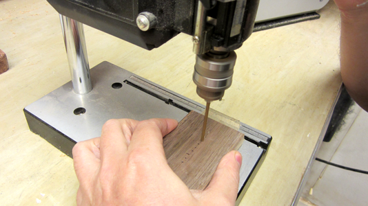 Drill the Holes for the Chassis