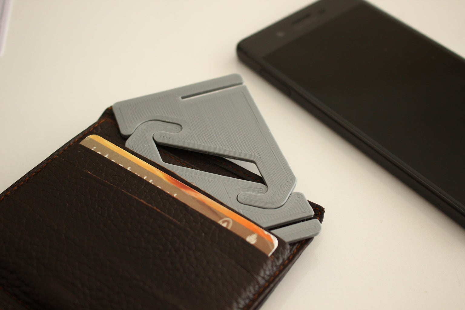 Credit Card Size Phone Holder