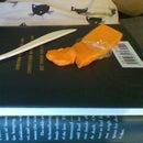Orange Polymer Clay Storage Box