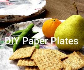 DIY纸盘
