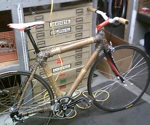 Bamboo and Hemp Road Bike