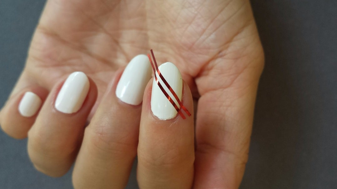 Tape Off Your Nails