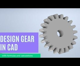 Designing Gears for 3D Printing