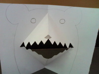 How to Make Bear Mouth Pop-up