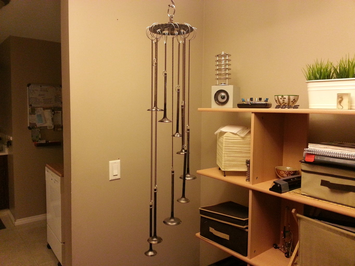 Rings and Rings ( a Windchime Made From Used Engine Parts)