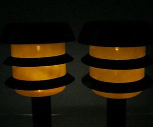 Fix Solar Garden Lamps