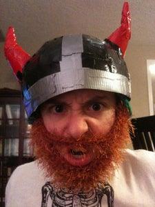 Cardboard and Duct Tape Viking Helmet