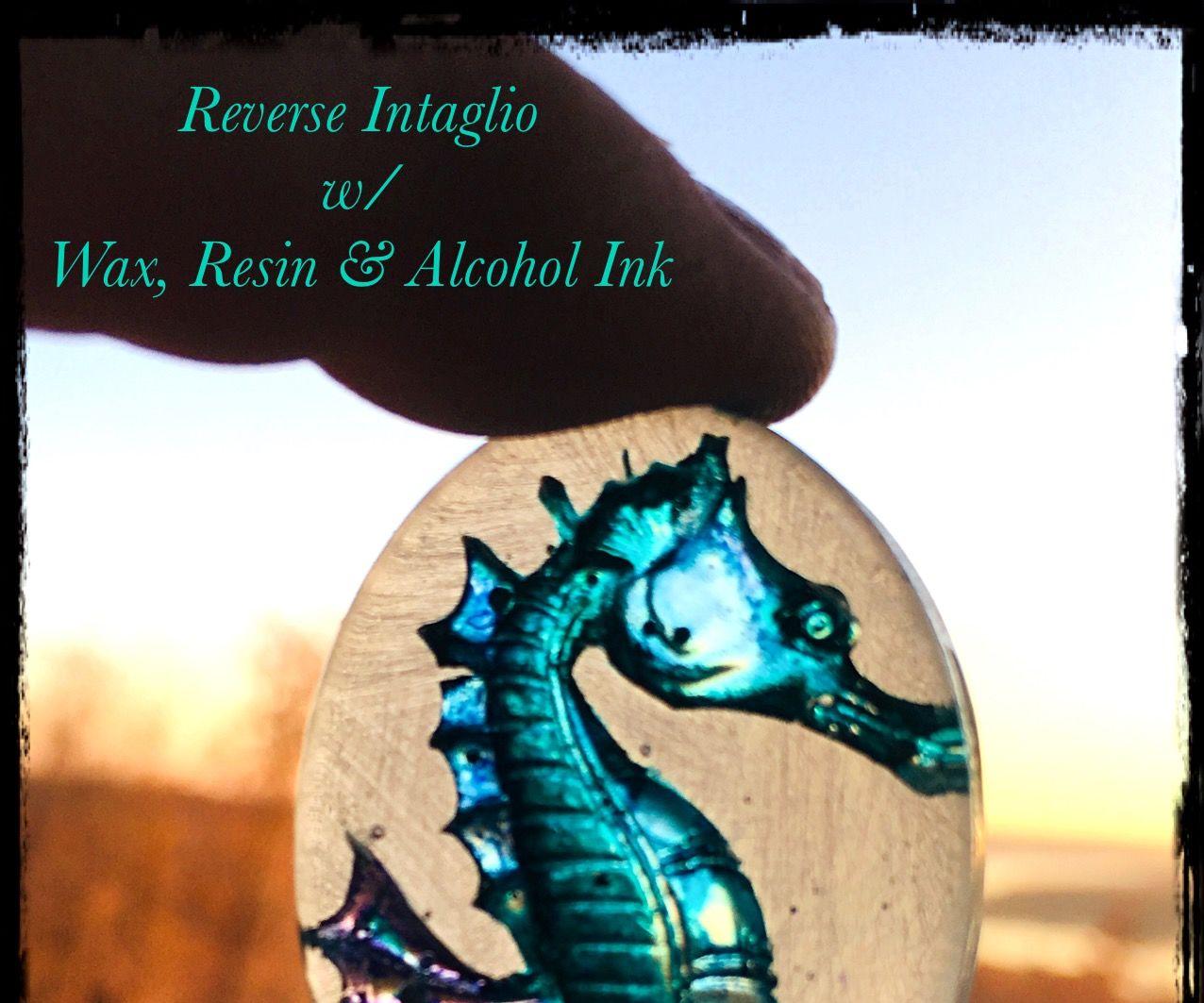 Reverse Resin Intaglio