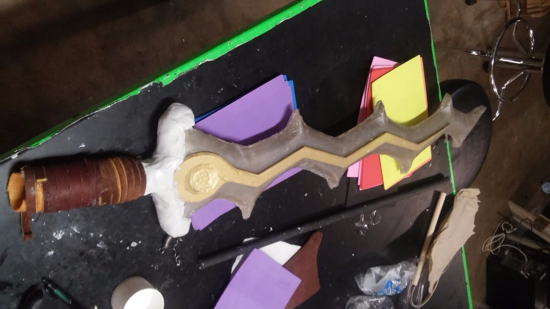 Step 7: Making the Hilt and Handle