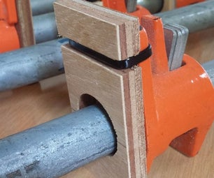 Easy Pipe Clamp Padding
