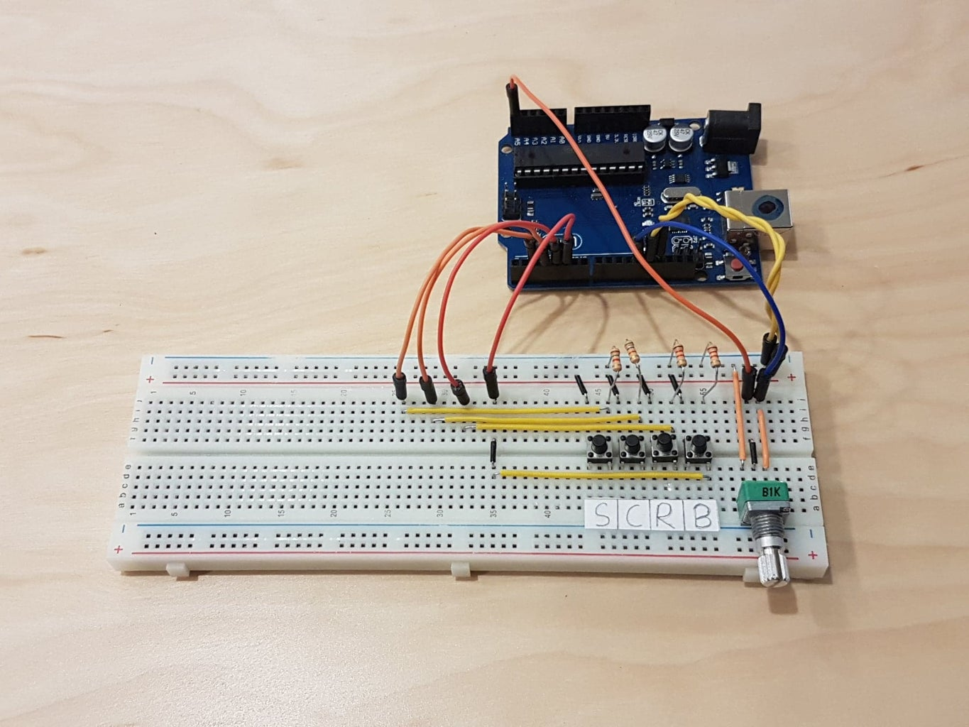 Wiring Up the Breadboard