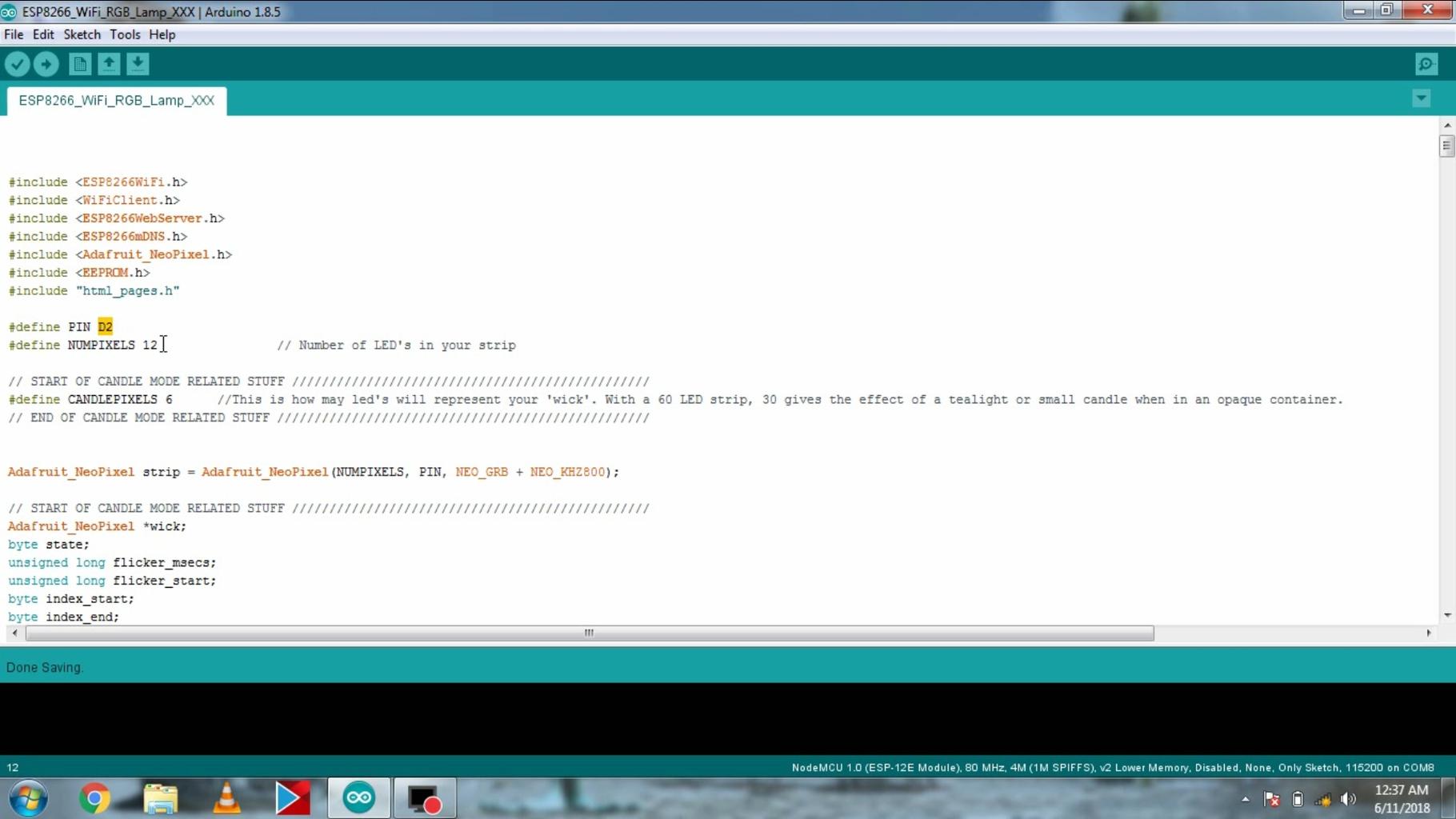 Upload Code