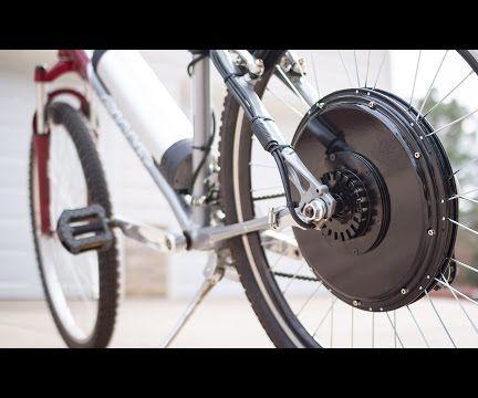 Easy Electric Bike Conversion Kit Installation