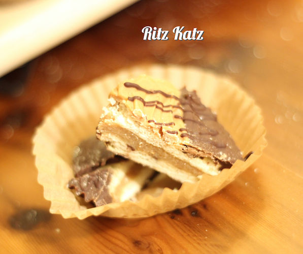 Ritz Katz - No-bake Peanut Butter Chocolate Cookie Cups