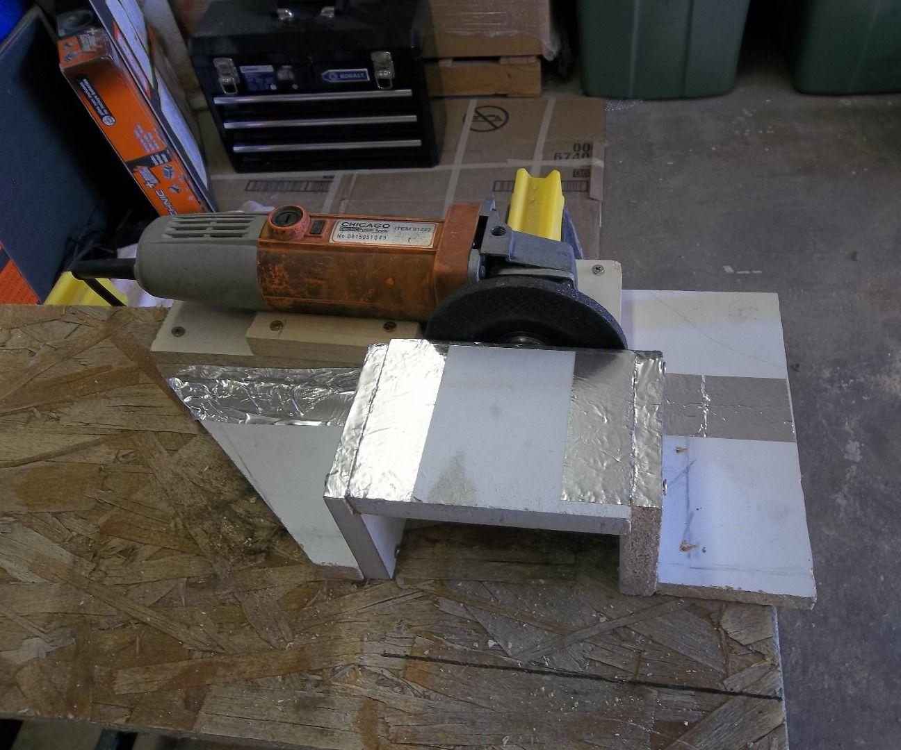 Vertical disc sander/ grinder