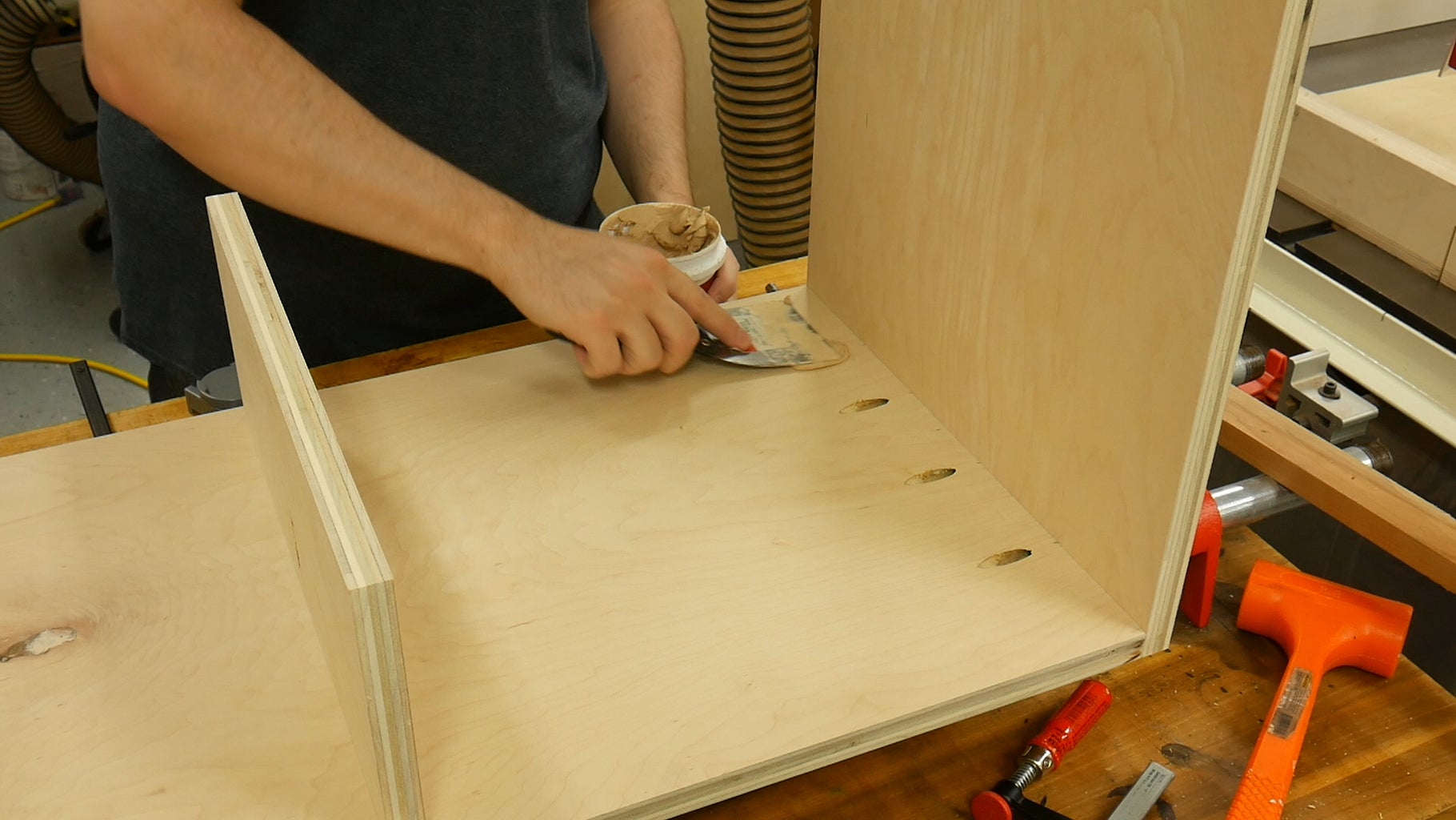 Fill Screw Holes With Wood Filler