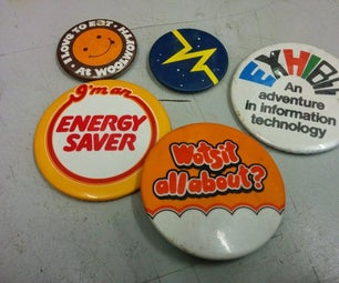 Convert Pin Badges to Fridge Magnets