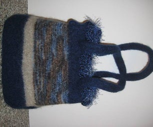 Felted Totes