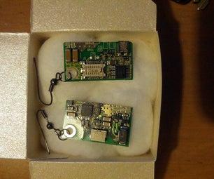 Geeky PCB Earrings