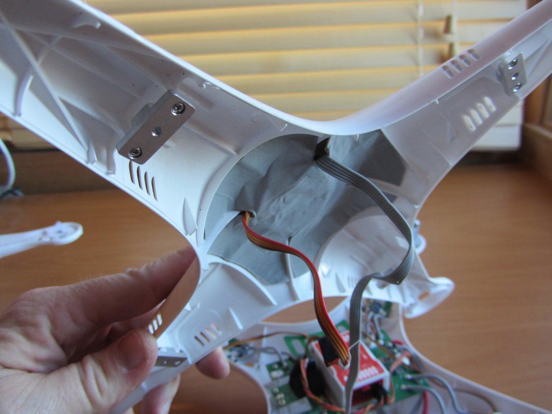Reuse Phantom 1 Shell Top / Plug in GPS