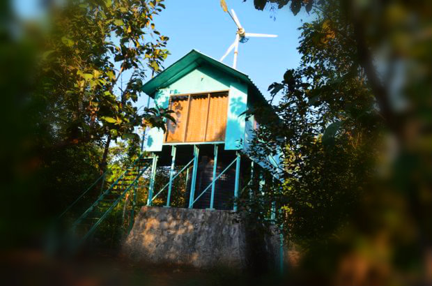 DIY Solar+Wind House