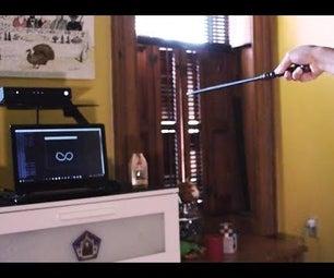 Tech-Magic:使用互动魔杖的家庭自动化从哈利波特的巫术世界