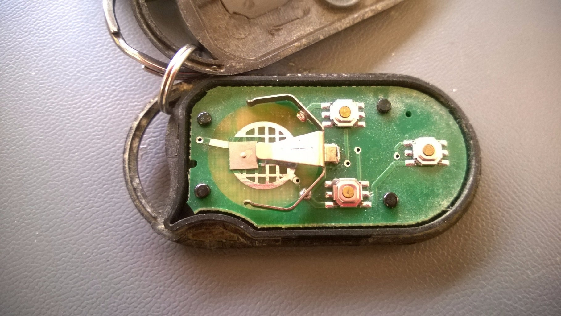 Reattaching the Battery Case