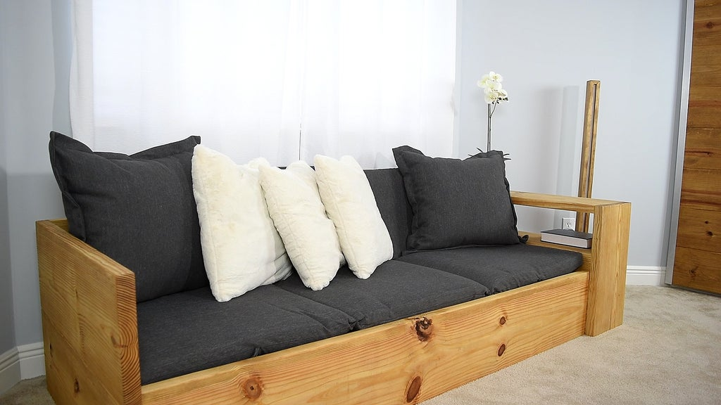 How To Make A Sofa That Turns Into A Bed 10 Steps With Pictures Instructables