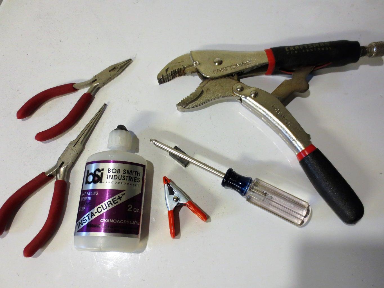 Tools, Materials, STL Files