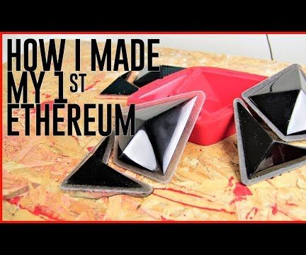 Silicone Mould - Resin Casting Ethereum Logo