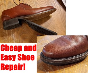 Cheap and Easy Shoe Repair