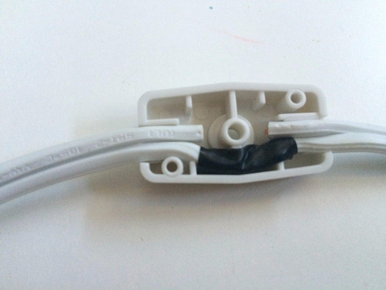 Cut and Trim Lamp Cord (optional)