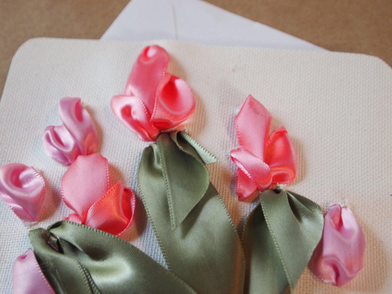 DIY Ribbon Wedding Invitations