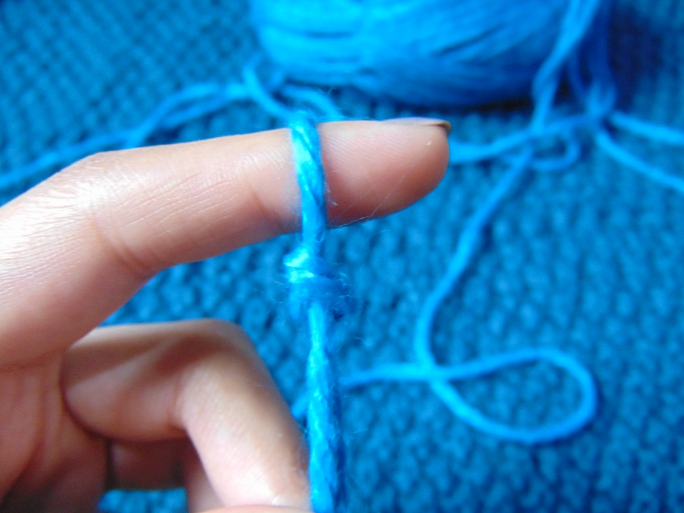 Making the Slip Knot - Two Ways