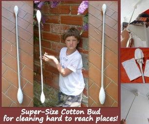 Super-Size Cotton Bud