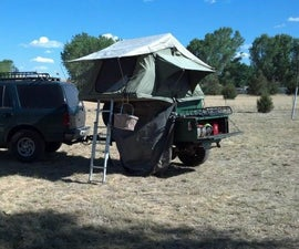 Off-road Adventure Expedition Trailer for Overlanding