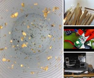 Electronics Scrapping for Precious Metals