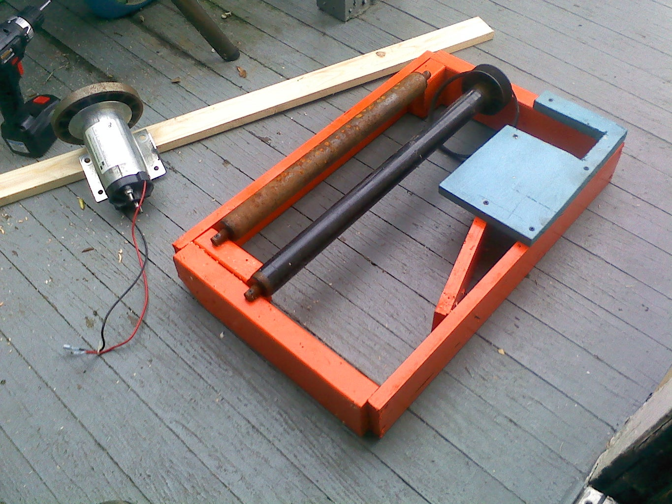 Building the Generator Stand