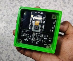 DIY ESP32安全摄像头