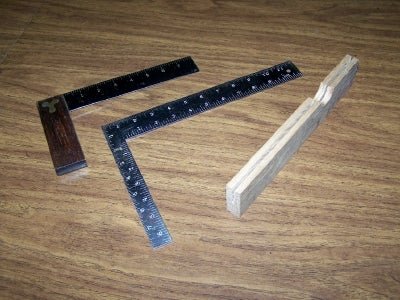Use a Steel Square As a Try Square