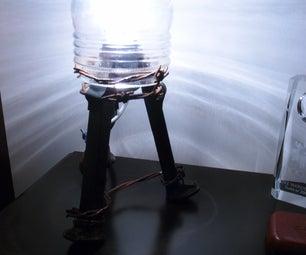 Railroad Spike Lamp