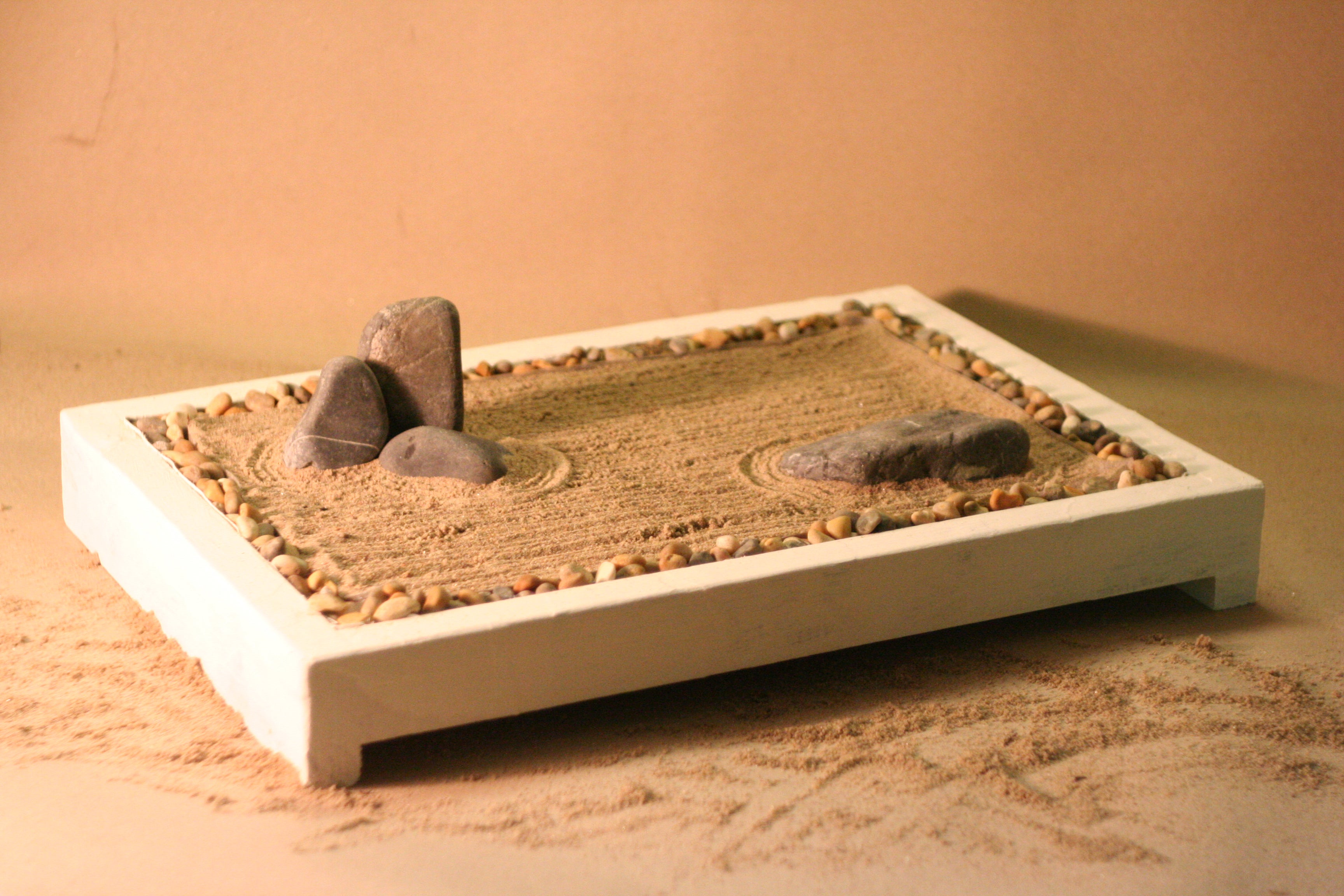 How To Build Your Own Desktop Zen Garden 5 Steps With Pictures Instructables