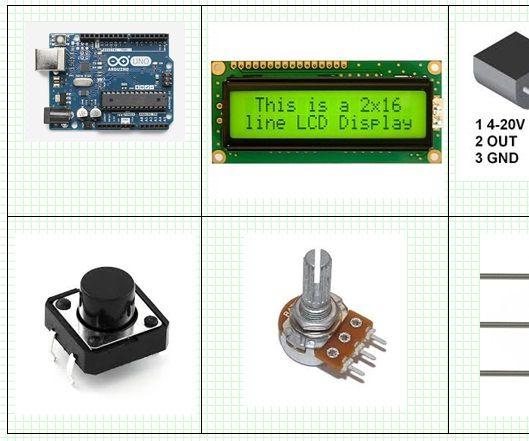 Arduino and LM35 Temperature Measurement