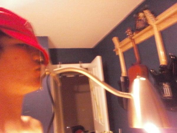 Hat Lamp (Chindogu)